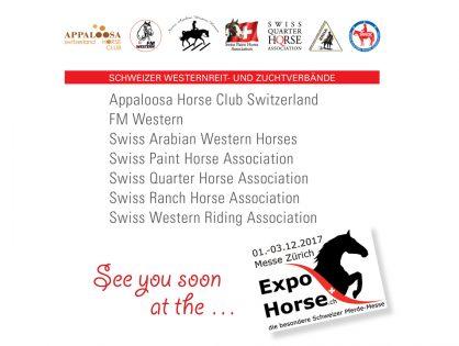 Die SWRA an der Expo Horse vom 1.-3.12.2017